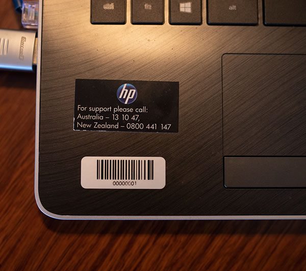 Consecutively Numbered Labels - Laptop