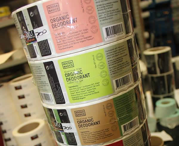 Personal Care Labels - Noosa Basics