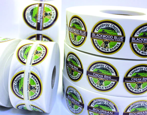 Cheese Labels Cambray Cheese