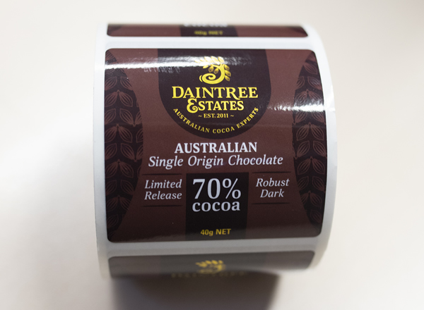 Chocolate Labels - Daintree Estates