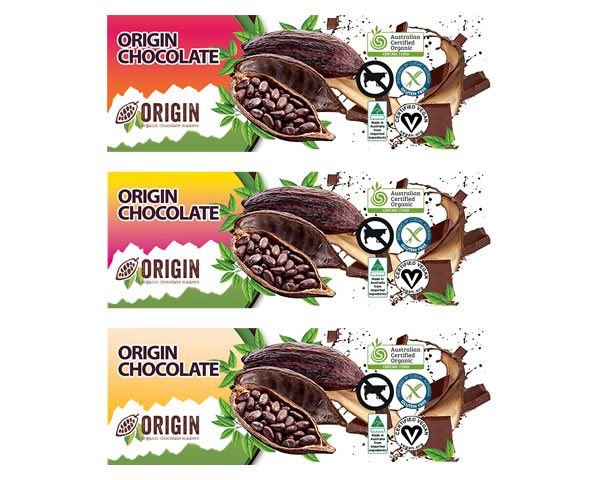 Chocolate Labels - Origin Choclate