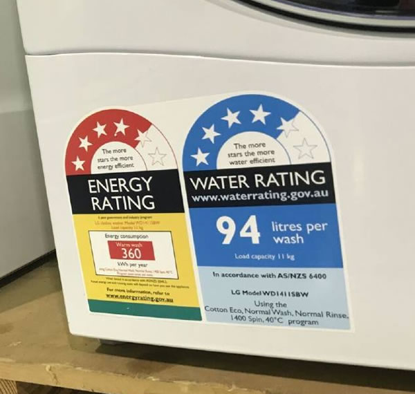 Energy Rating Labels