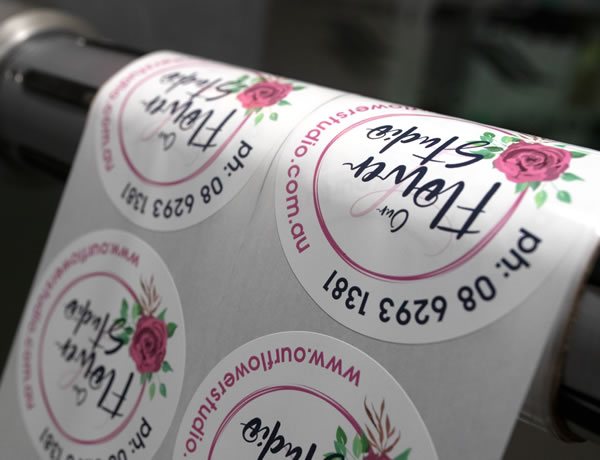 Florist Labels - Our Flower Studio