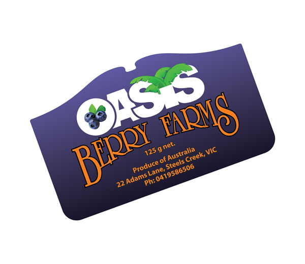 Fruit & Vegetable Labels - Oasis Berry Farm