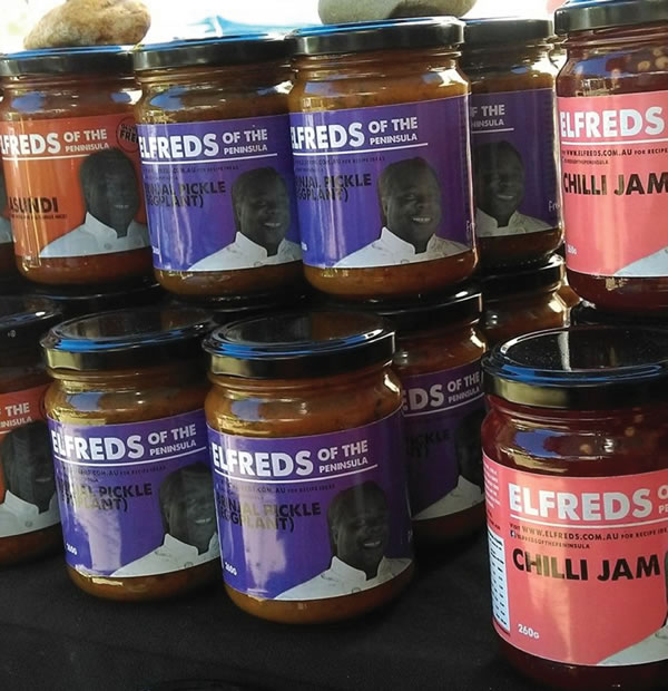 Jar Labels - Elfreds of the Peninsula