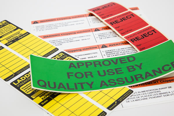 Quality Control Labels