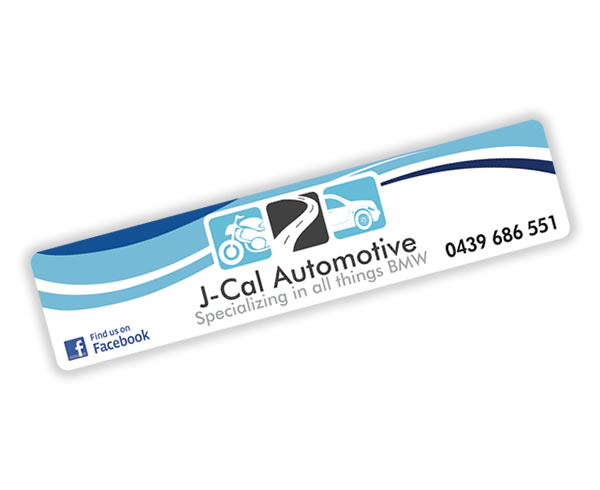 Rear Window Labels - J-Cal Automotive BMW