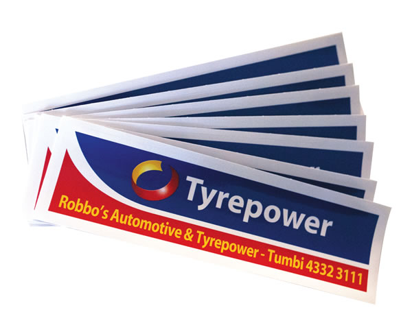 Rear Window Labels - Tyrepower