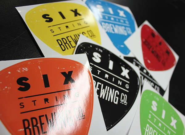 Six String Brewing Co. Labels