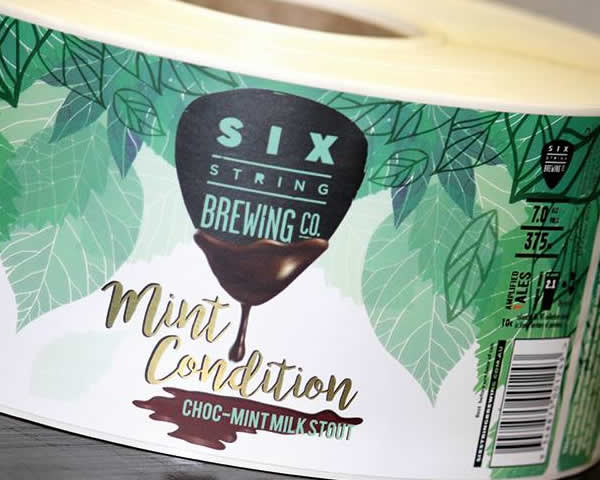 Beer Labels - Six String Brewing Co.