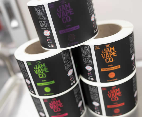 Vape Labels - The Jam Vape Co.