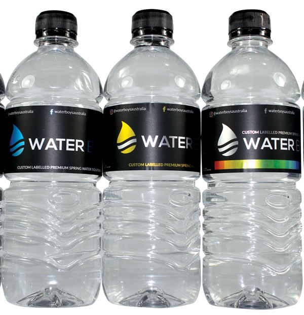 Water Bottle Labels - Waterboys