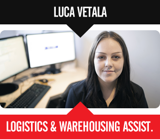 Luca Vetala - Logitics & Warehousing Assistant