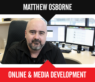 Matthew Osborne - Online & Media Development
