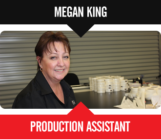 Megan King - Production Assistant