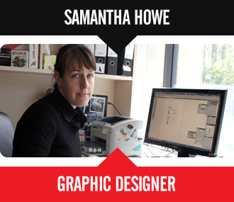 Samantha Howe - Graphic Designer