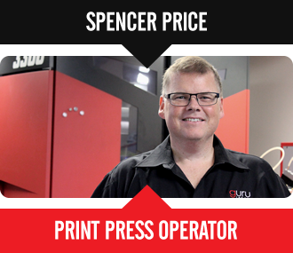 Spencer Price - Print Press Operator
