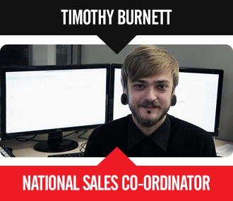 Timothy Burnett - Business Development Manager